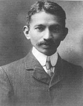 Gandhi in South Africa - 1909