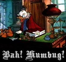 Bah! Humbug!_Donald Duck