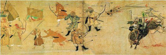 History of Japan_Mōko_Shūrai_Ekotoba